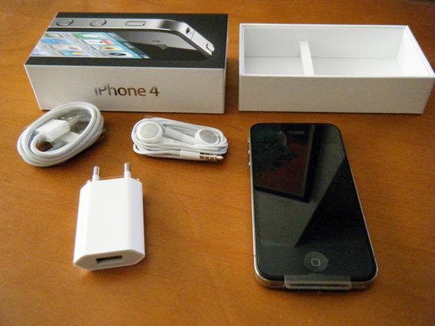 iPhone 4G 16GB Black GSM FU, Jual Murah Aja..