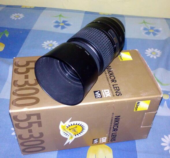 Lensa Nikon AF-S 55-300mm F/4.5-5.6 G ED DX (ex Alta)