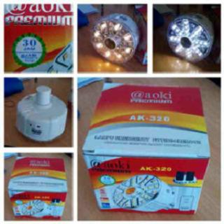 lampu emergency + remote
