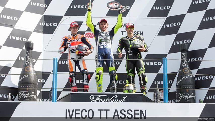 10 Momen Terbaik Valentino Rossi di Arena Balap MotoGP