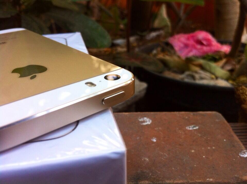 iPhone 5S Gold 16Gb, Fullset, Mulus & Garansi Resmi, Gan!