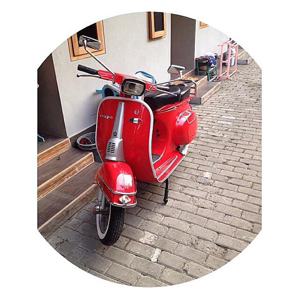 Vespa special or pts red bandungg mang