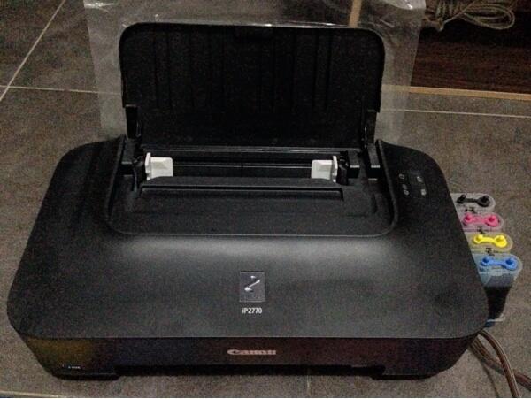 Terjual Canon Pixma Ip2770 Infus Malang