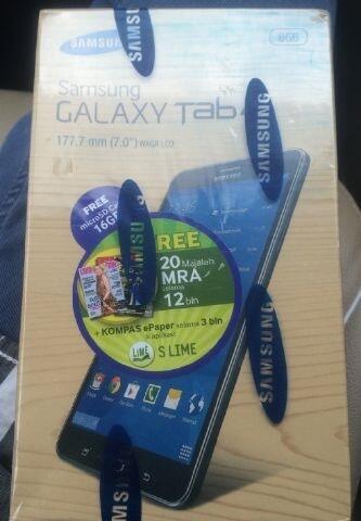 """Galaxy Tab 4 7"""" Ex Hadiah Bandung"""