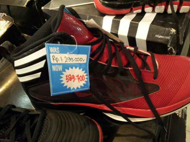 WTB-Dicari/Dibeli Sepatu Basket Adidas Crazy Fast 1 Black-Red Size 44,5-46