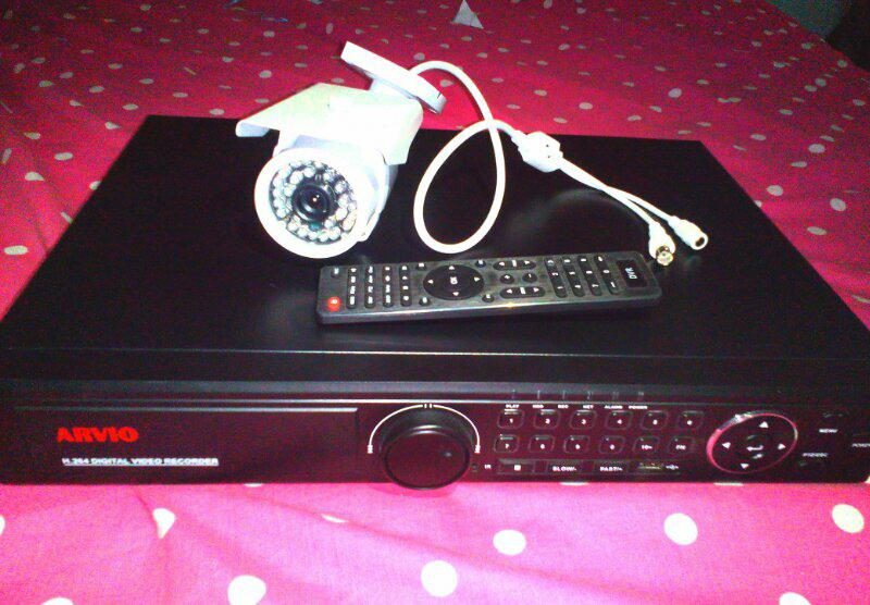 DVR 2440HDMI & CCTV 3070S