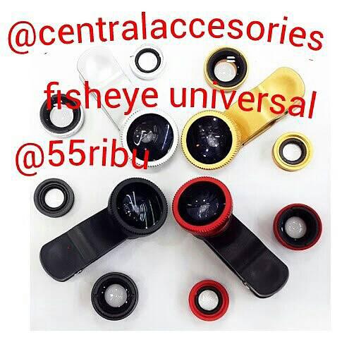 [Central Accesories]fisheye universal 3in1 murah, powerbank vivan murah gan!