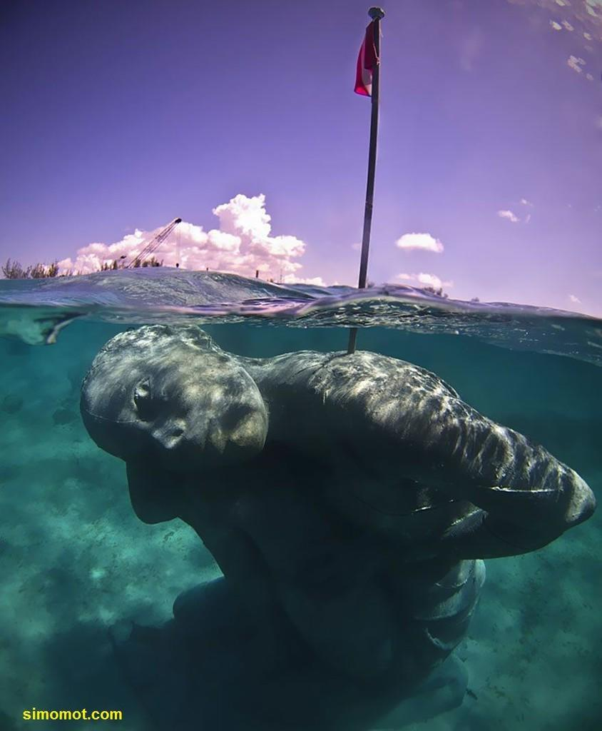 Ocean Atlas, patung raksasa dalam air terbesar di dunia