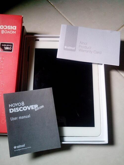 Ainol novo 8 Discover QUADCORE RAM 2GB INTERNAL 16GB, IPS 8INCH, WIFI ONLY