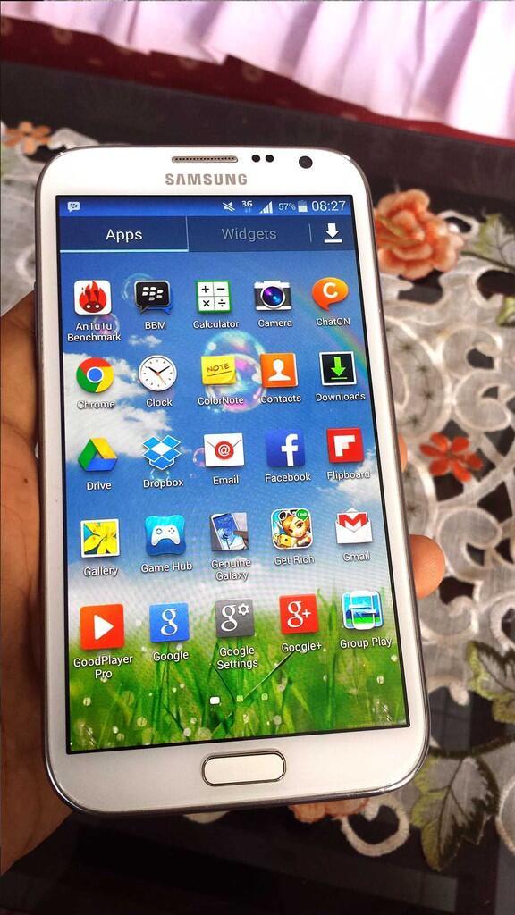 Galaxy Note 2 GT-N7100 White Ex SEIN
