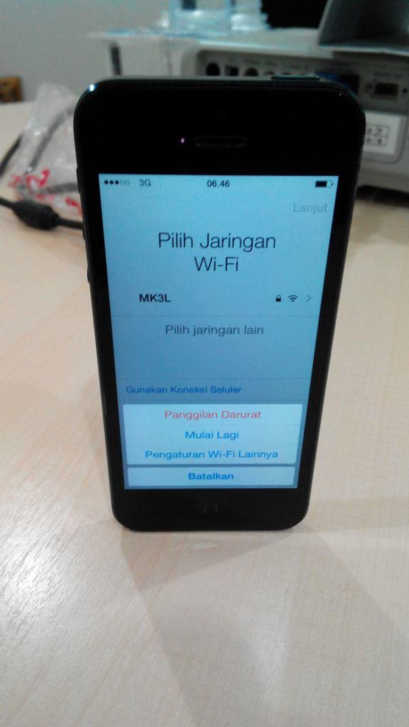 Iphone 5 16Gb Black FU Linked Only Icloud