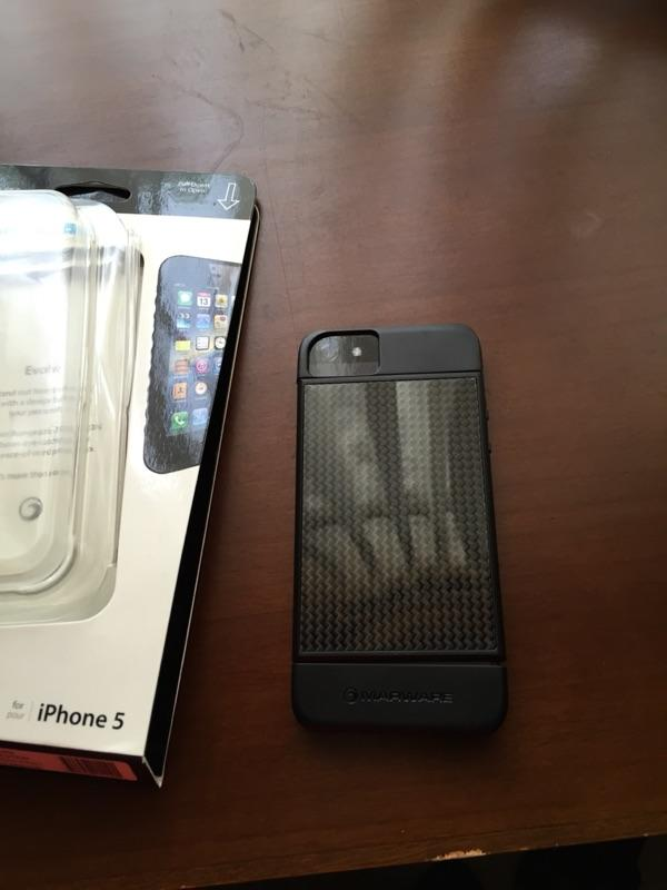 Marware carbon for iphone 5/5s!! Full protect