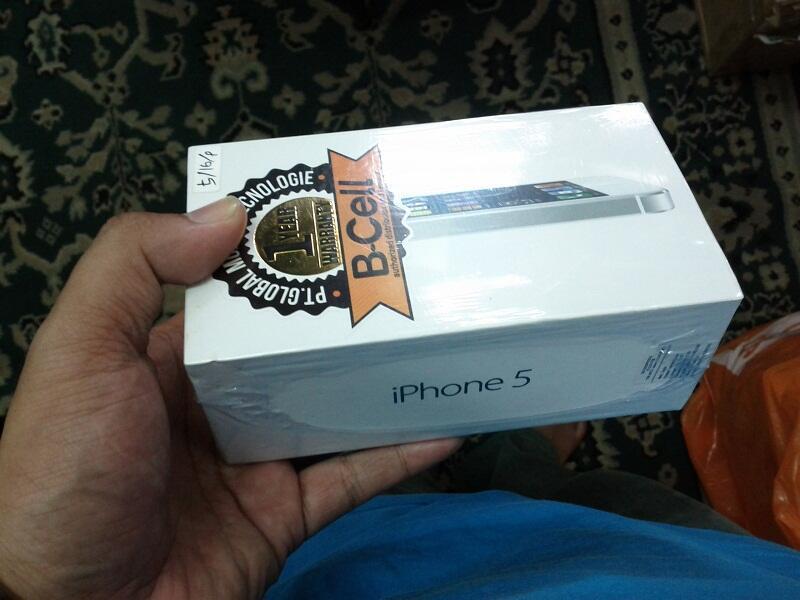 iphone 5 16gb new grs dist murmer di malang