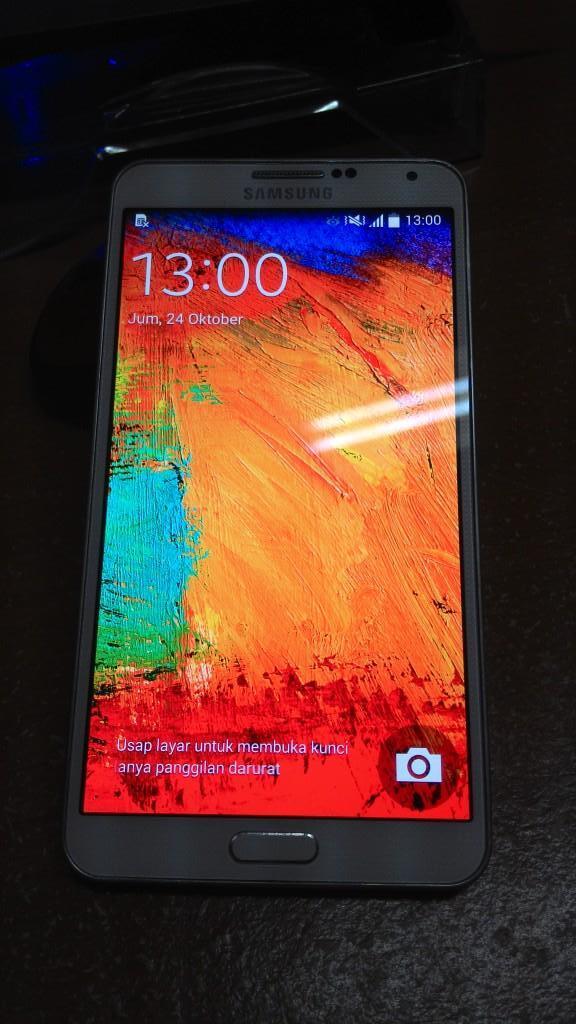 Second Samsung Galaxy Note3 N900 + Samsung galaxy Gear 1 COD Bandung