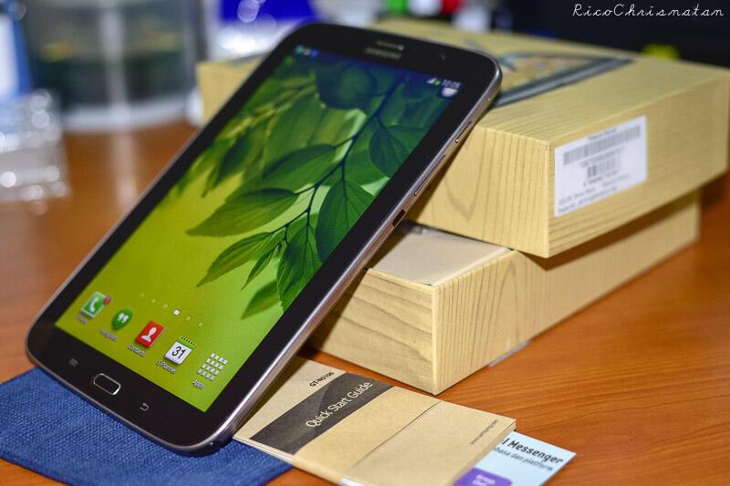 SAMSUNG GALAXY NOTE 8 BROWN BLACK N5100 LIMITED EDITION