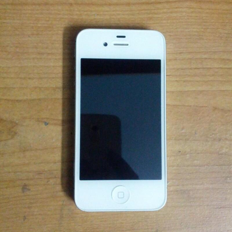 Jual IPhone 4S White 16 GB FULLSET MULUS !!!!