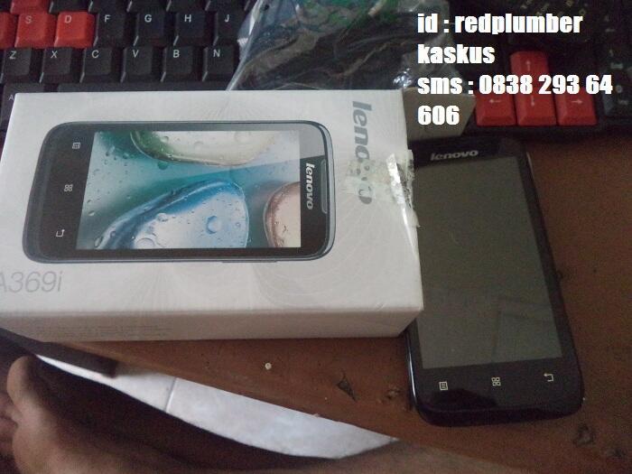 [WTS] Jual Lenovo A369i Dualcore Android - FULLSET masih garansi (bon ada)