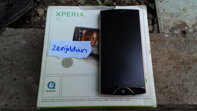 Sony Ericsson Xperia Ray Ex Display Udah Root Planet Bekasi