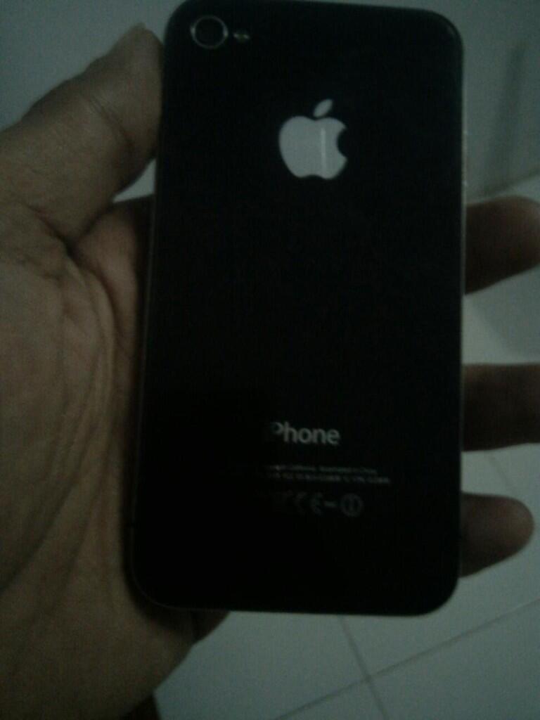 iPhone 4g 32gb FU hitam ada apanya