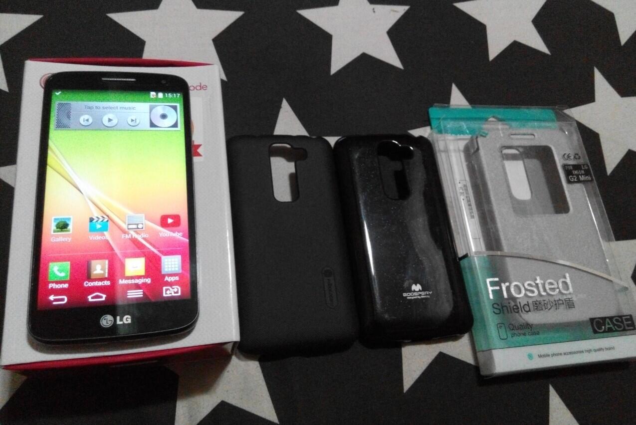 LG G2 Mini Dual Garansi sampe July 2015 Mulus Like New