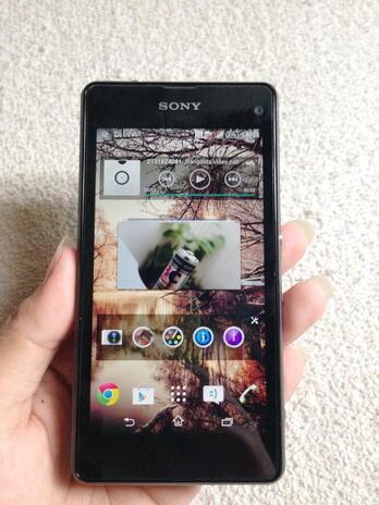 ~ Sony Xperia Z1 Compact Black D5503 Second Like New Murah Gan | Bandung ~
