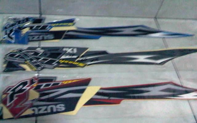 WTS striping / lis body Suzuki Smash TITAN SR/ R