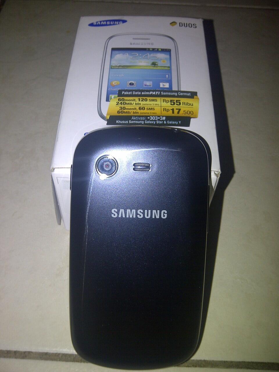 WTS Samsung Galaxy Star GT S5282 Fullset Murah BU