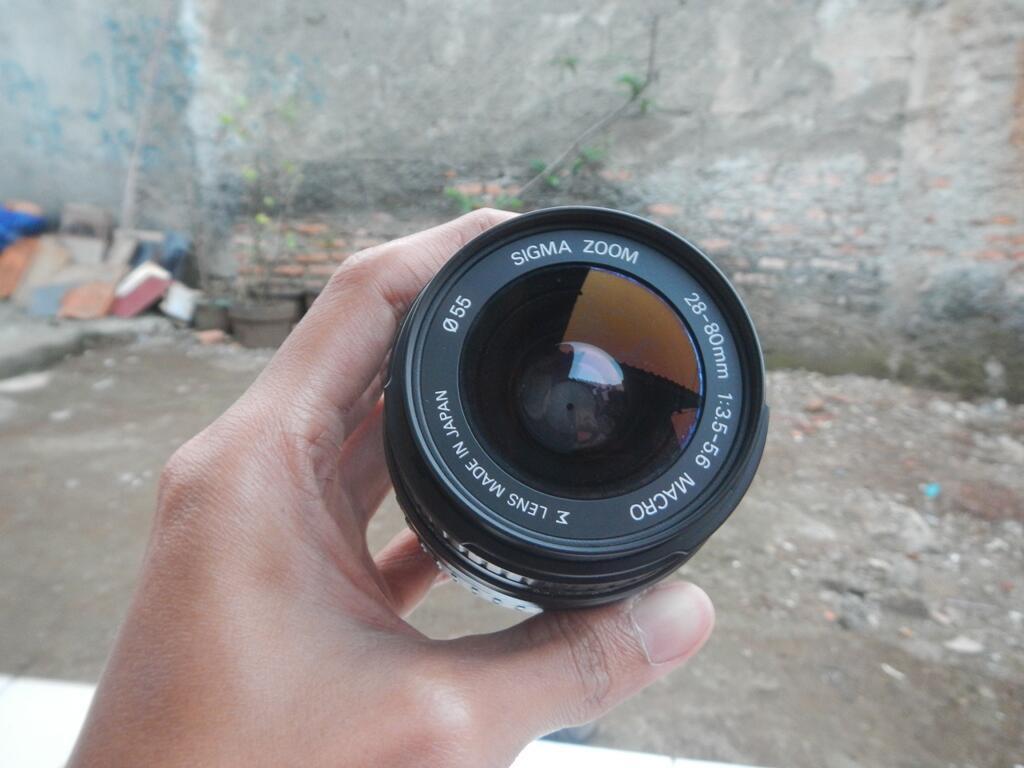 Lensa Pentax DA L 55-300 & Sigma For Pentax 28-80 Macro