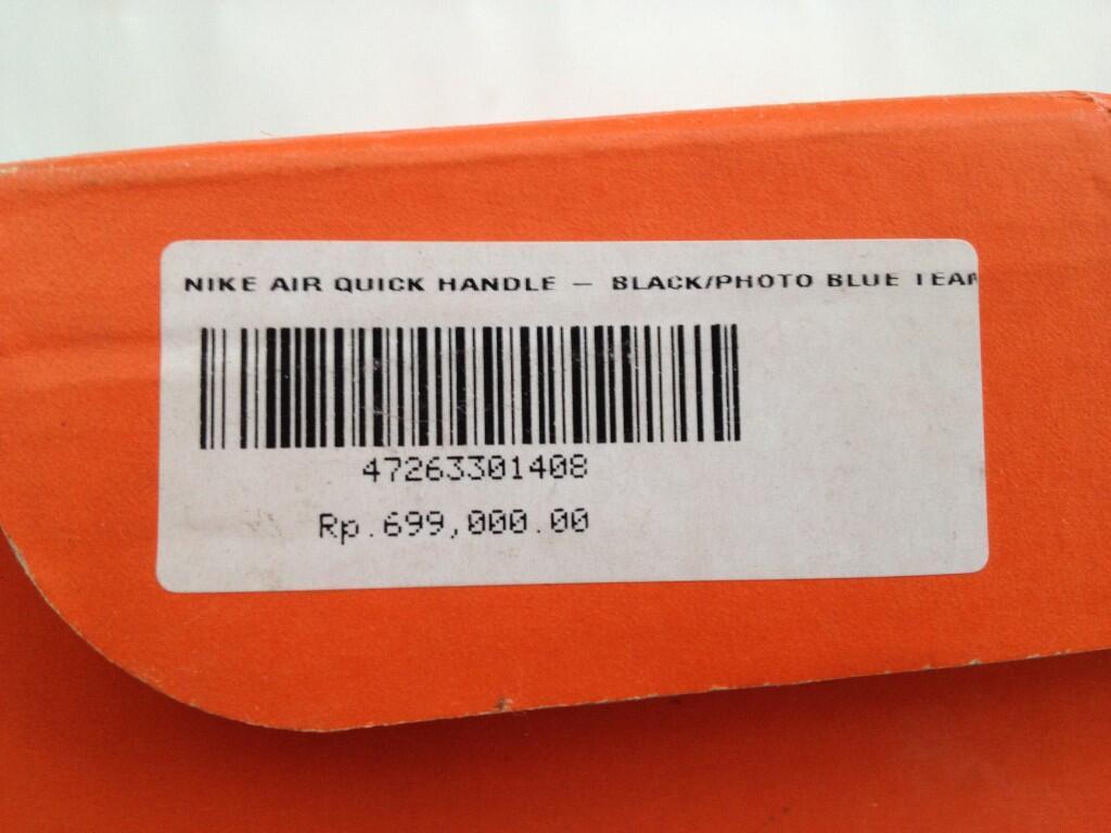 Sepatu Basket Nike Air Quick Handle|New&Original|Murah|Habisin Stok Aja Gan|Bukan KW!
