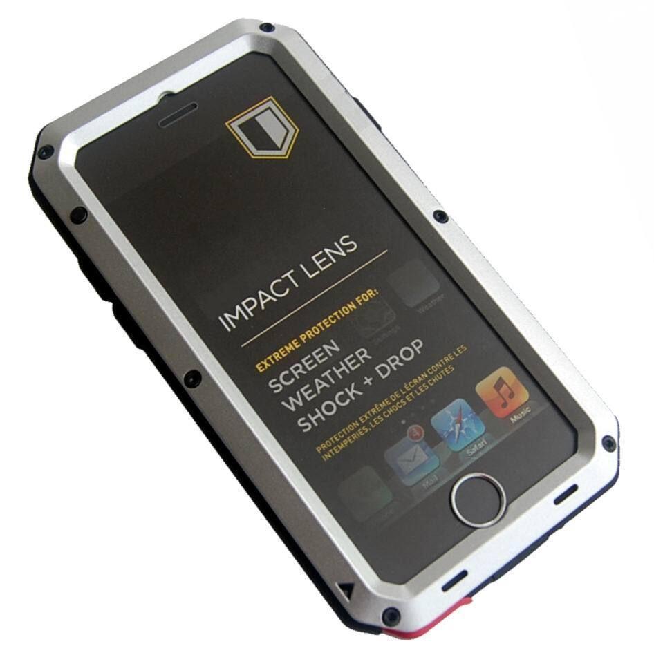 """Waterproof Shockproof Aluminum Gorilla Glass Metal Case For Apple iPhone 6 4.7"""""""