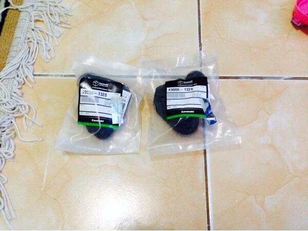 Part acesories ninja 150 R dan RR