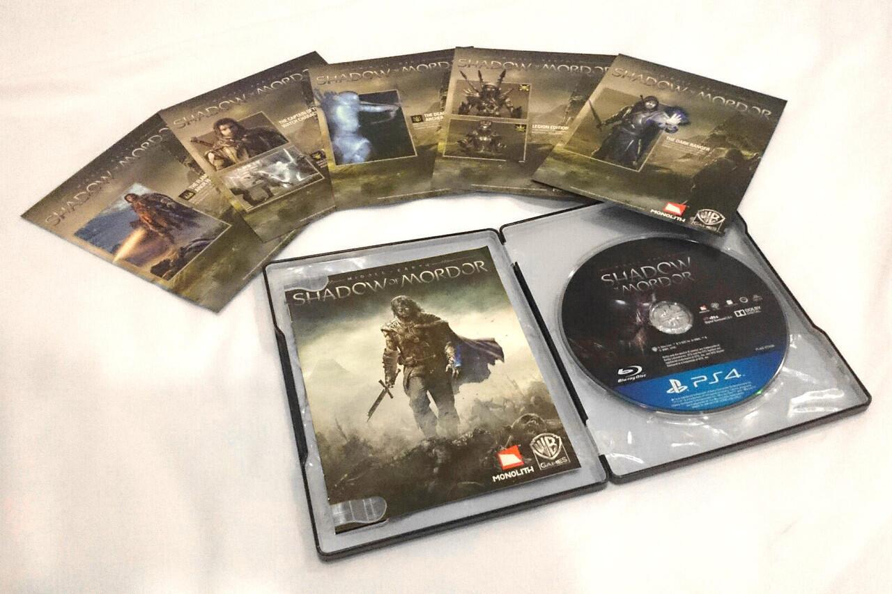 Jual BD PS4 Shadow of Mordor 2nd