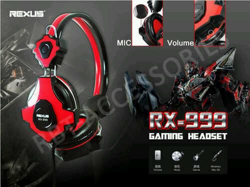 [VERDE] Headset Gaming Rexus RX-999 BNIB PALING MURAH
