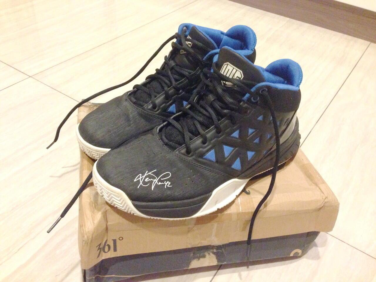 WTS Sepatu Basket 361 Kevin Love RARE ORI (Second) KOLPRI