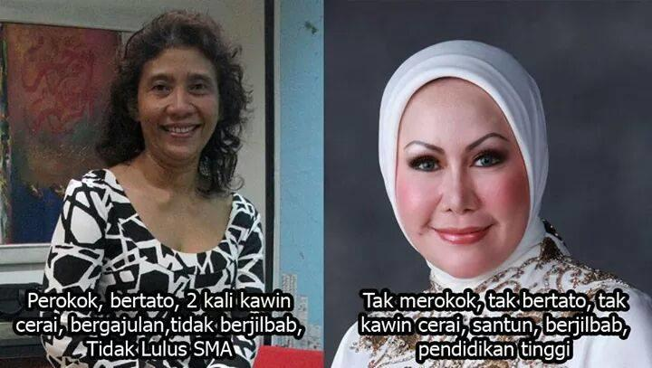 Aa Gym: Semoga Bu Susi Berhenti Merokok dan Pakai Jilbab
