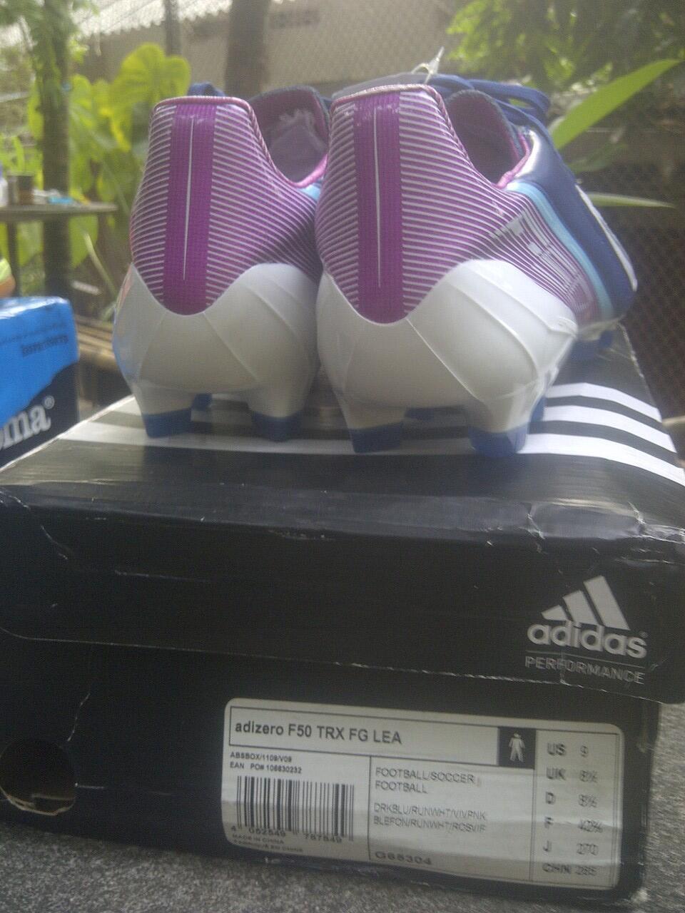 Sepatu Bola Adidas Adizero F50 FG Lea BNIB