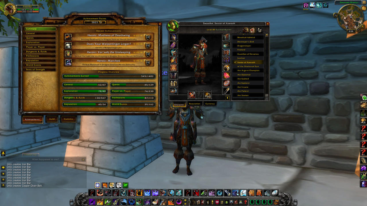 ID Molten (Neltharion) Premium (Paladin, Mage, Hunter, Rogue) ILVL 398 MS/OS Murah!