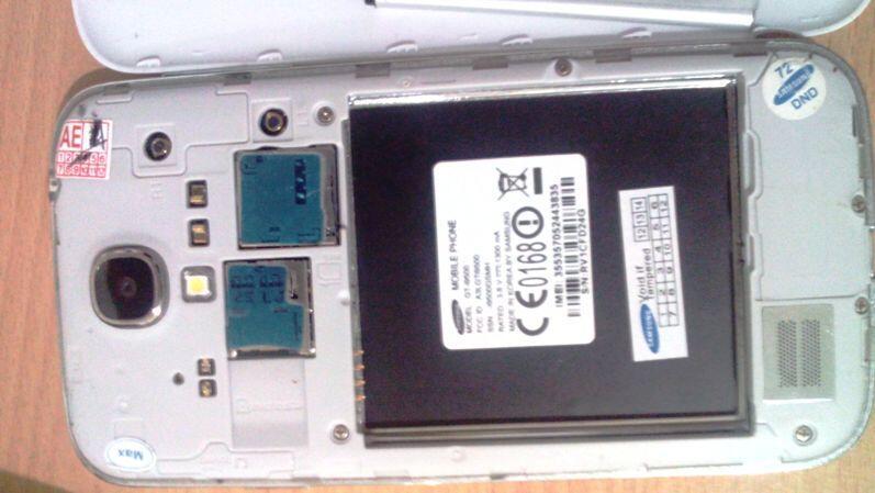 S4 MTK6589 LCD pecah mesin Normal jual apa adanya utk part