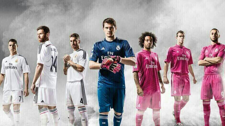 NEW JERSEY LIGA SPANYOL 2014 - 2015