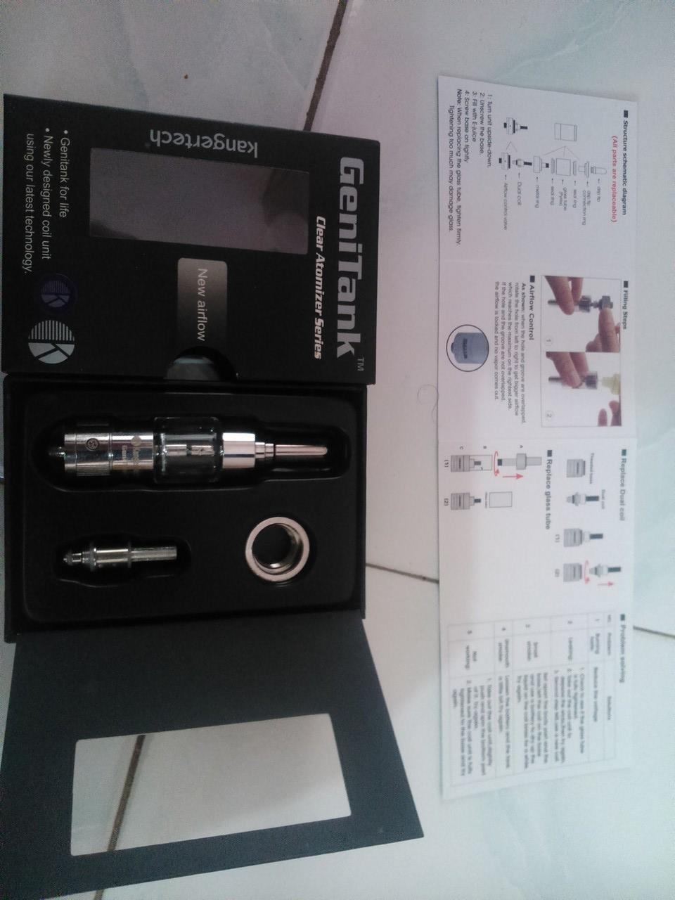 VAPORIZER Clover vv 2650 mAh 3.3v - 4.8v + kangertech genitank with airflow FULLSET