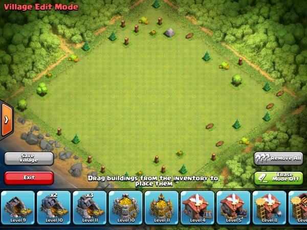 Jual akun (clash of clans)coc th 9