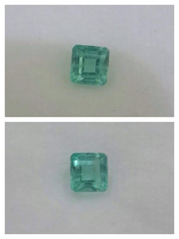 Zamrud colombia (natural emerald)