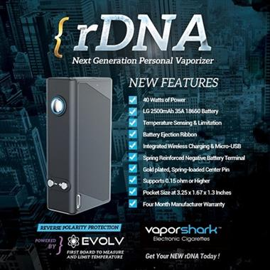 [PO] Pre Order Authentic VAPOR SHARK rDNA 40 !