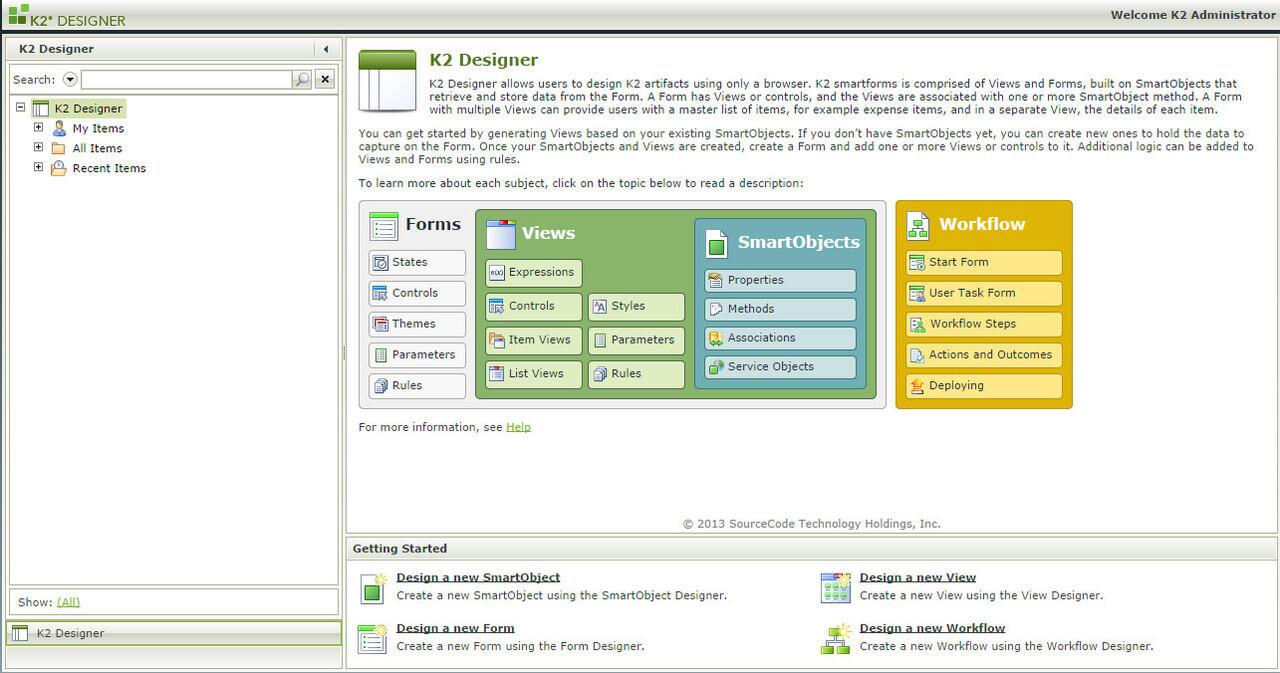 K2 Developer - Discussion
