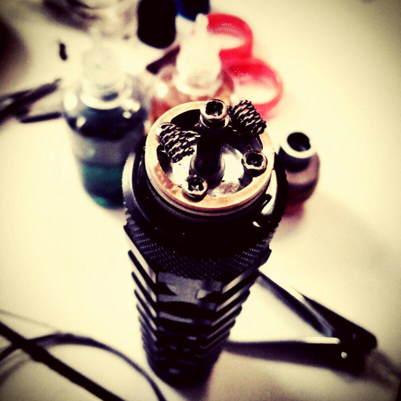 vape / vaporizer / wts AR mod , rda 454bigblock