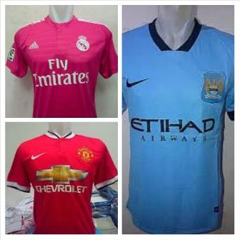 ★★★ Jersey Kaos Bola Grade ORI dan Player Issue season 14-15 Best Collection ★★★
