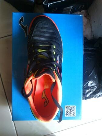 [JUAL] Sepatu Futsal JOMA Super Regate Black uk 42 ORI