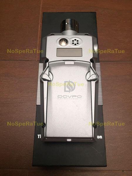 Vapor/Vaping/E-Cigar - Dovpo E-Mech + Aspire Nautilus + 2x Batt (Paket Lengkap)