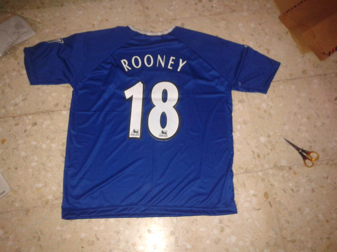 [WTS] READY STOCK JERSEY EVERTON HOME 2003-2004 #18 ROONEY