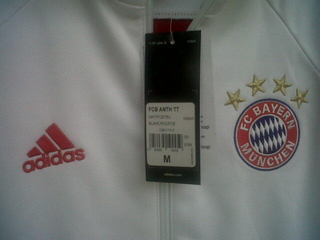 Adidas original Jaket Anthem bayern Munchen